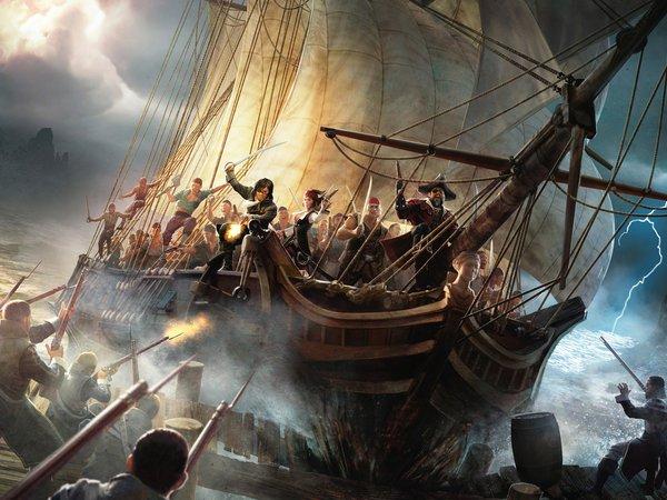 Картинки Пиратских Кораблей На Рабочий Стол