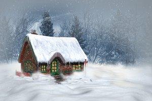 Картинки природа зима и лето