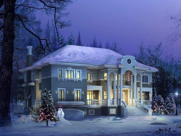 Картинки На Рабочий Стол Зима Елка