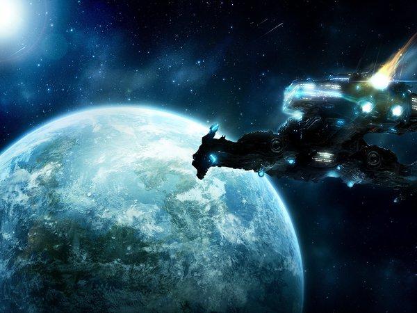 Обои На Рабочий Стол Космические Корабли