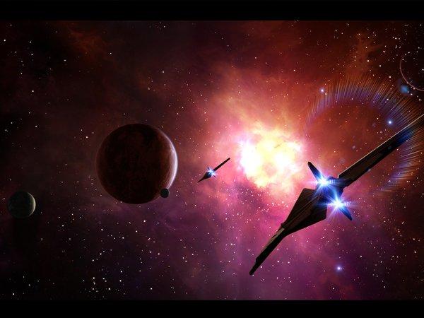 Oboi Art Planet Space Starlight Art Kosmicheskie Korabli Kosmos