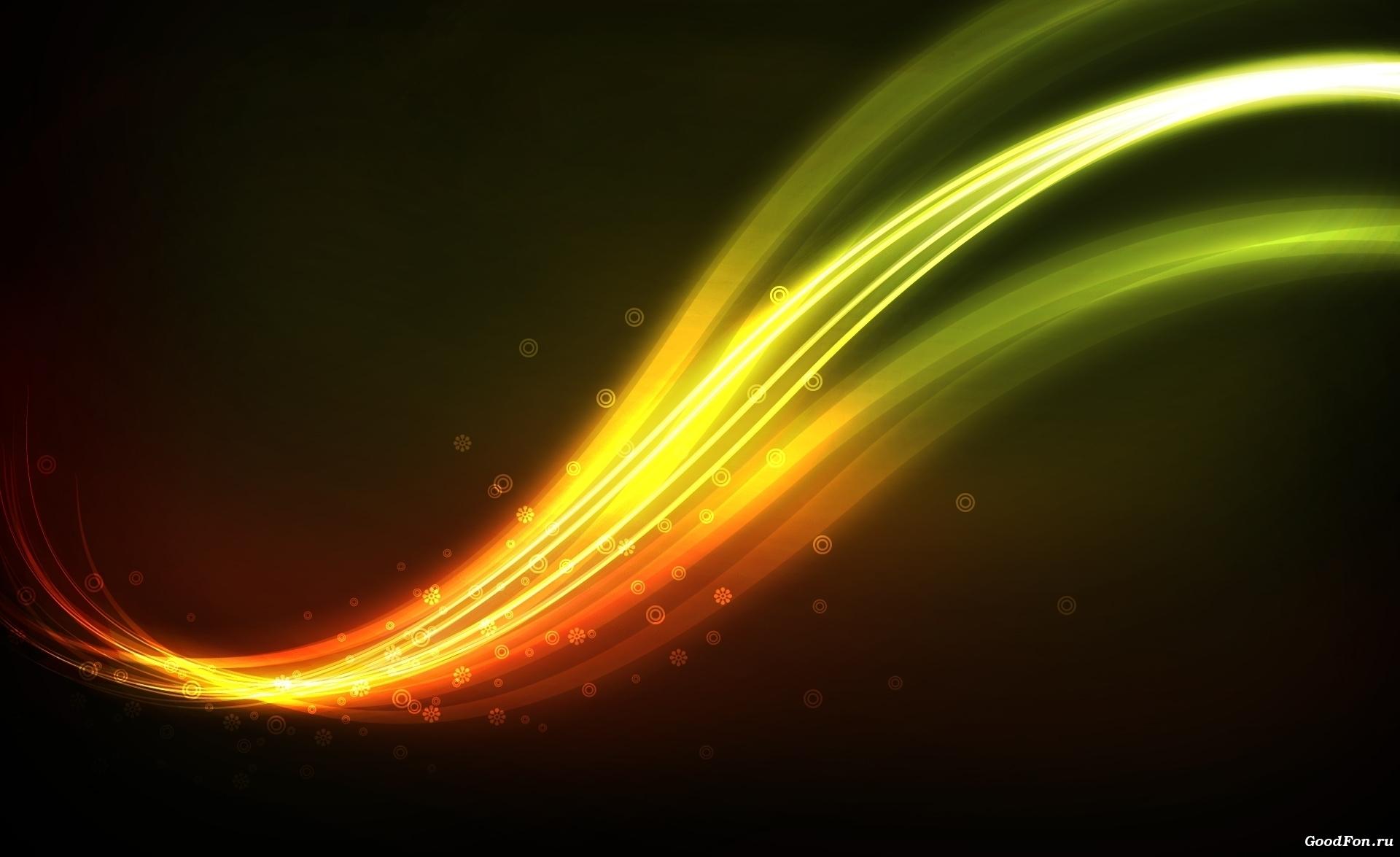Обои сияние линии свечение lights line glow картинки на рабочий стол на тему Космос - скачать без смс