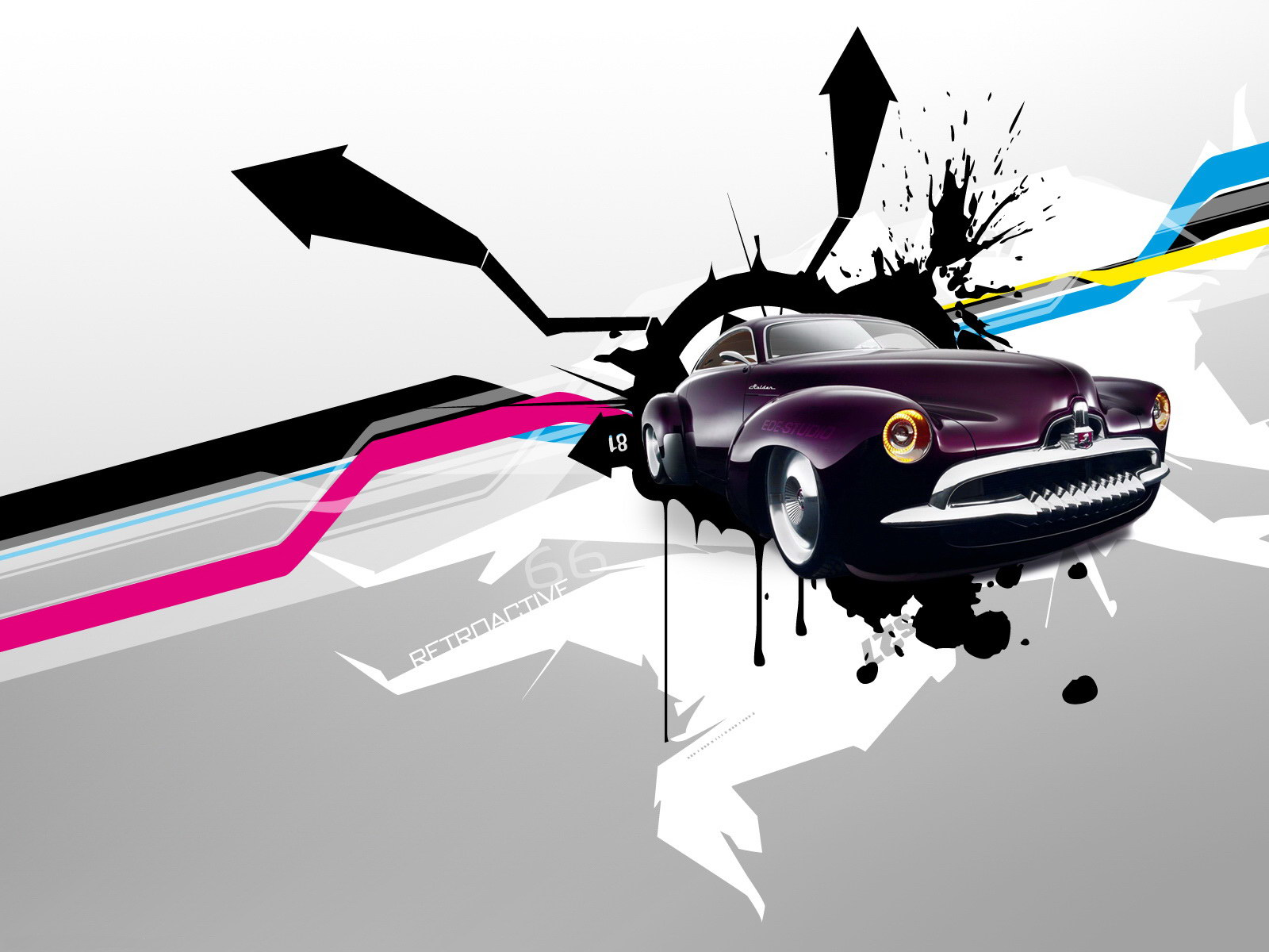 автомобили графика абстракция свет cars graphics abstraction light  № 2652761  скачать