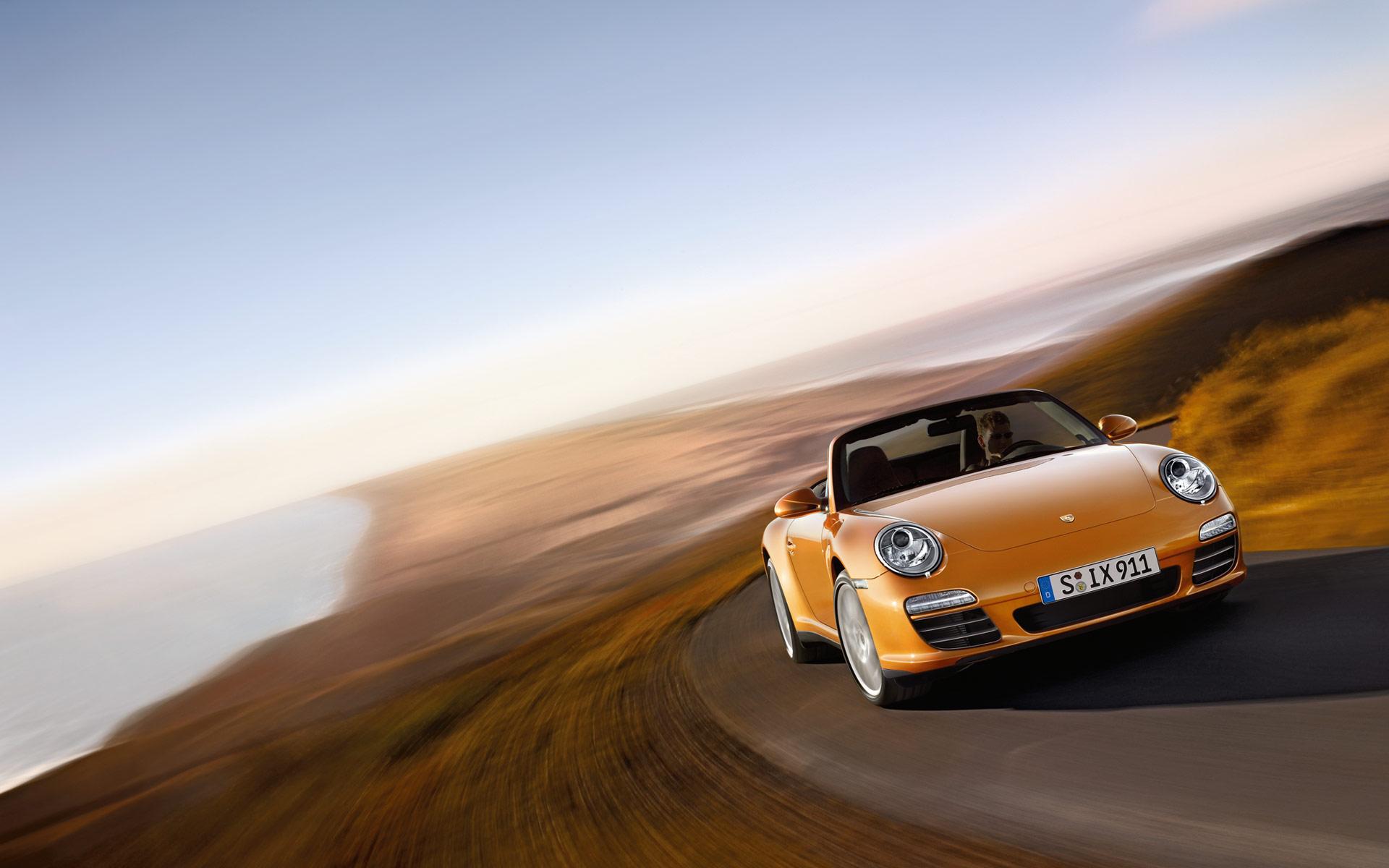 Porsche 911 Carrera дорога загрузить