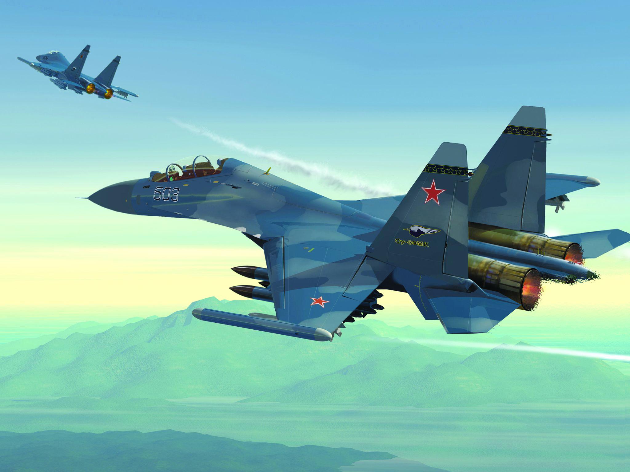 Российский истребитель без смс
