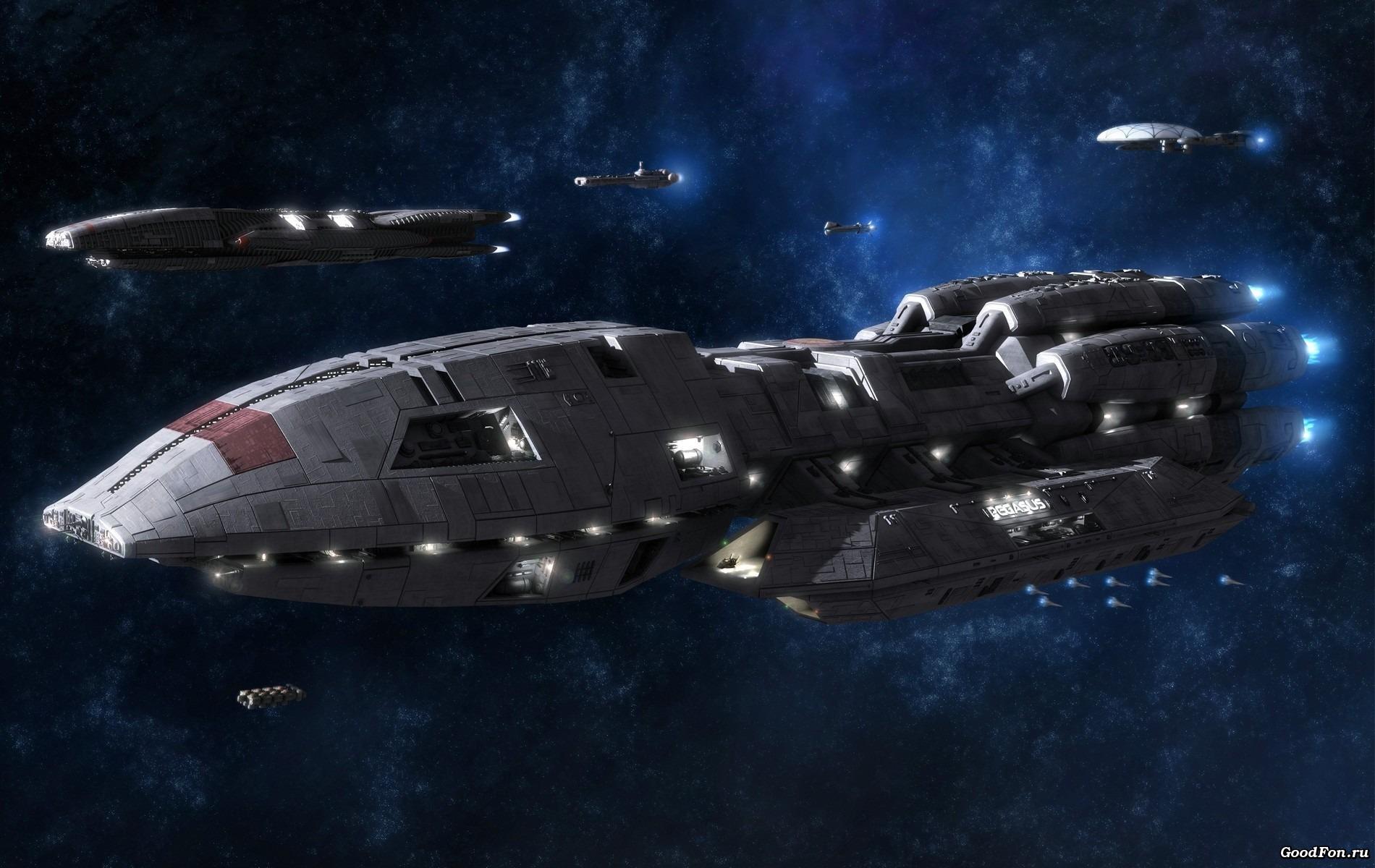 Обои на рабочий стол космические корабли будущего
