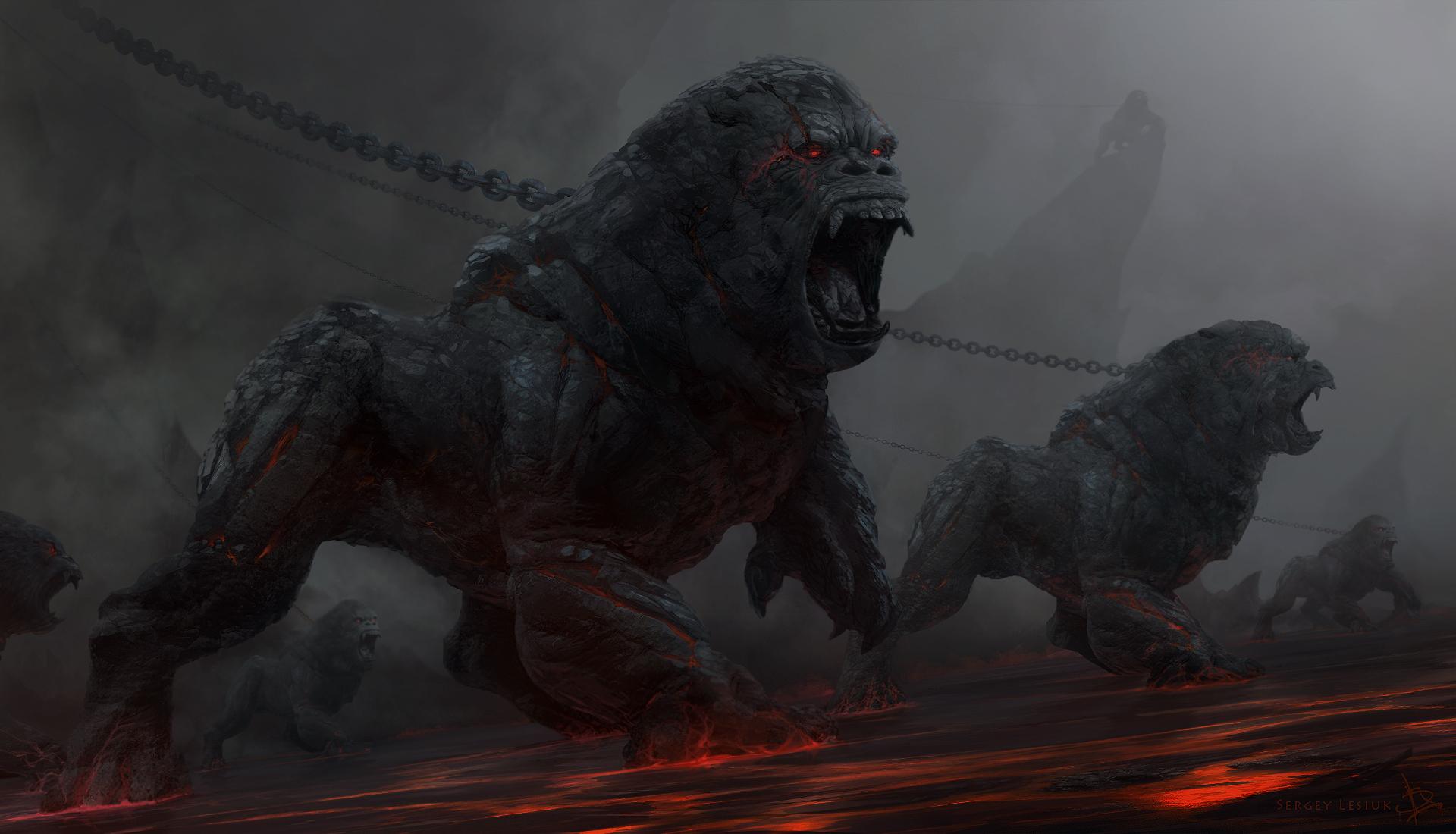 Гнев титанов, монст, Химера  № 1524143  скачать