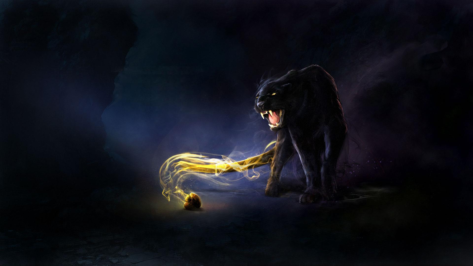 животные девушка тигр фэнтези загрузить
