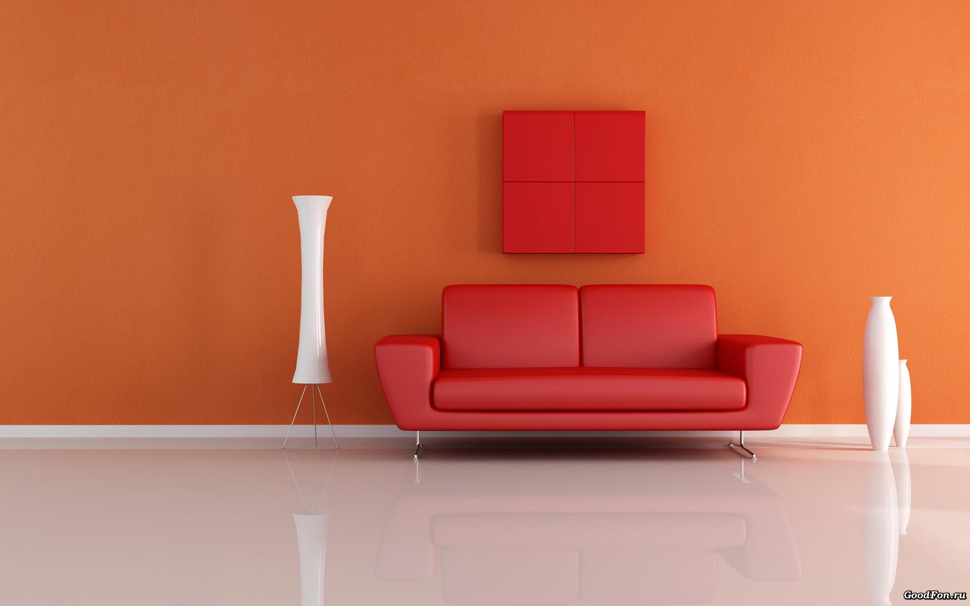 Красный диван без смс