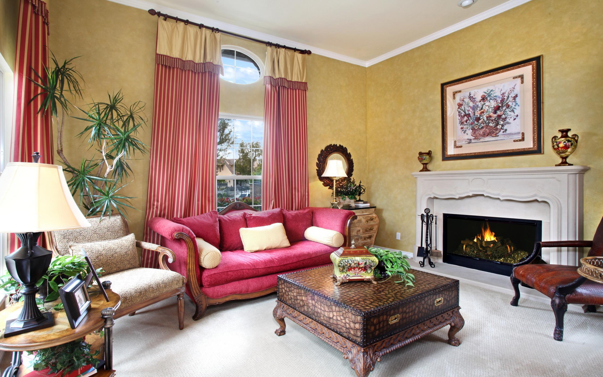 интерьер комната камин стол ковер interior bathroom fireplace table carpet бесплатно