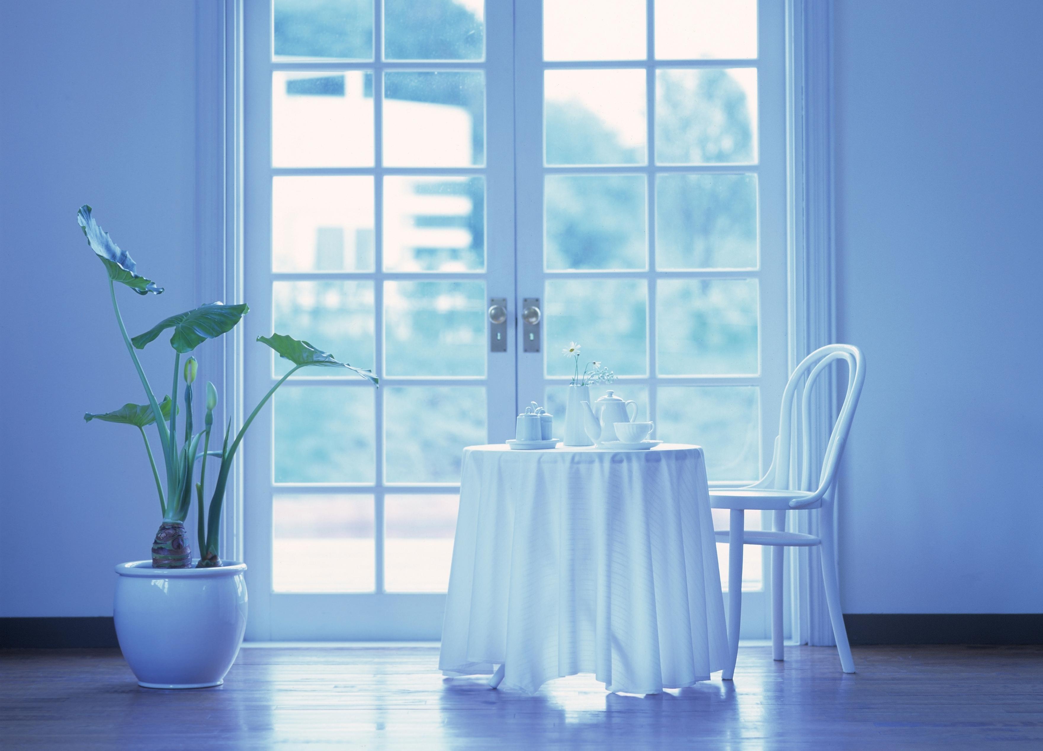 интерьер стол окно interior table window скачать