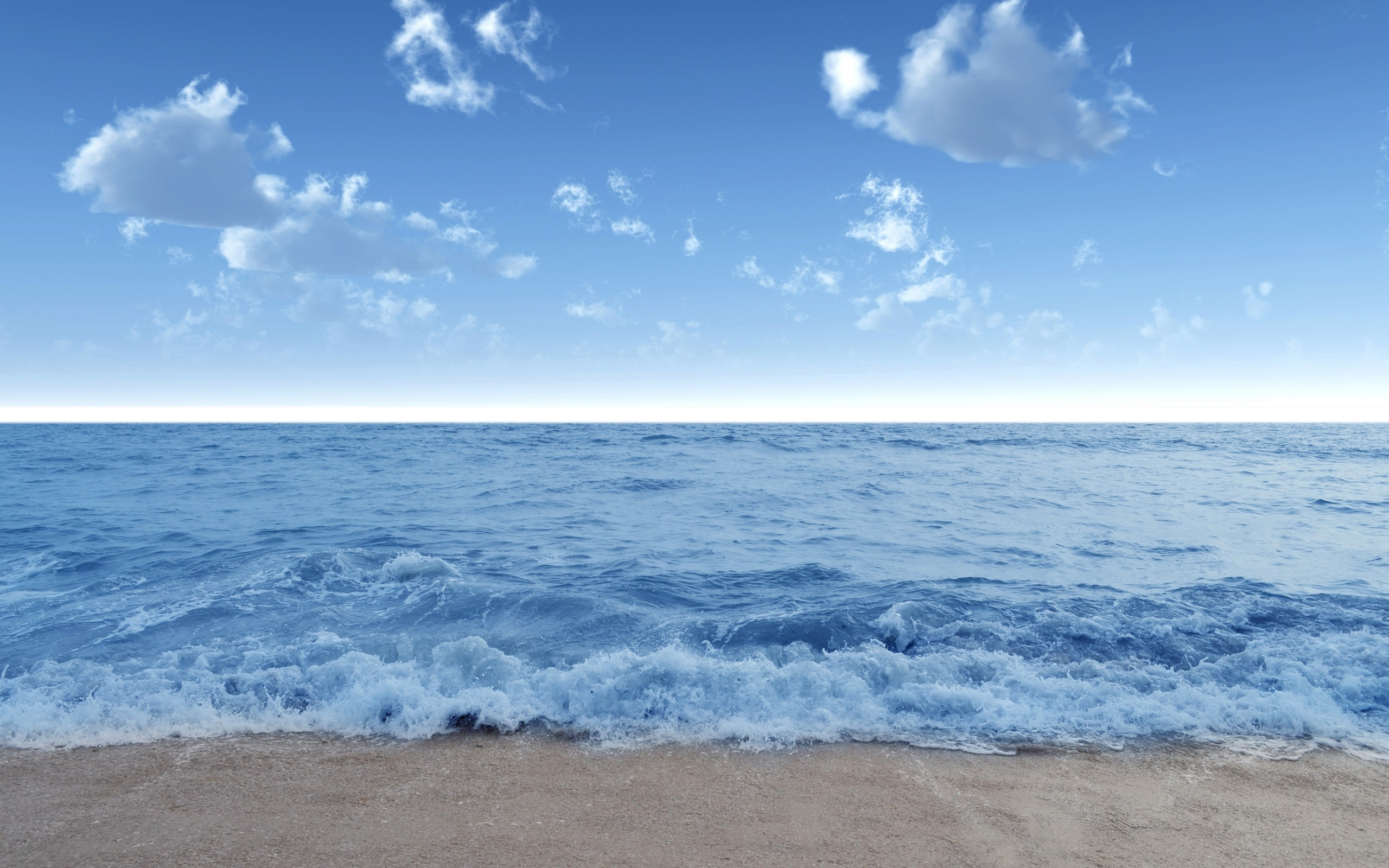 Побережье море небо скачать