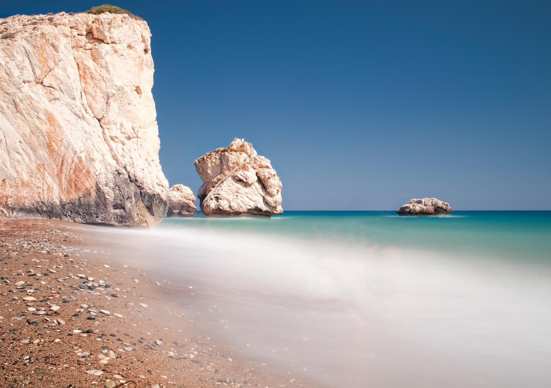 природа камни море побережье скалы зима снег без смс