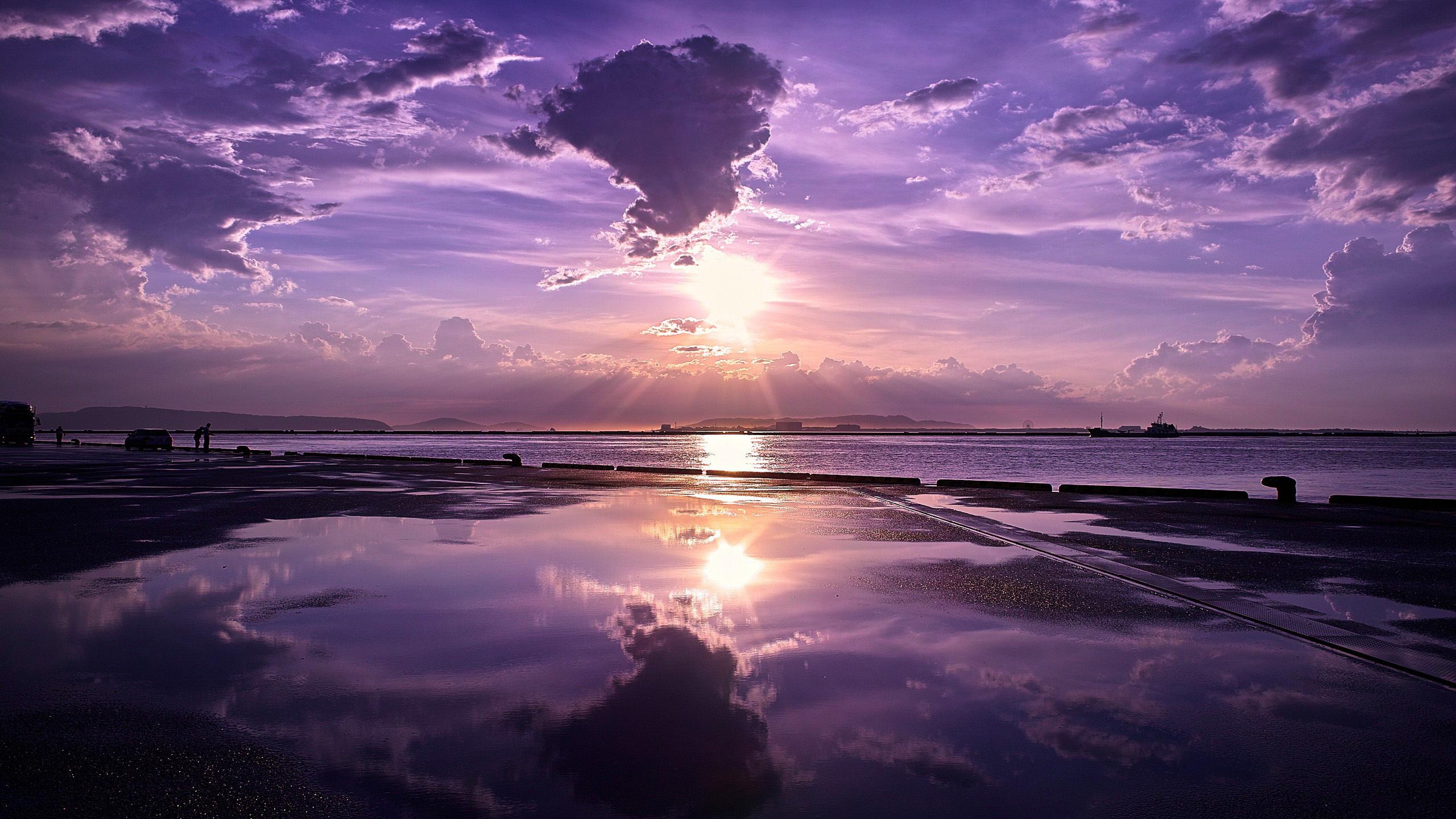 природа море берег небо горизонт  № 3776938 бесплатно
