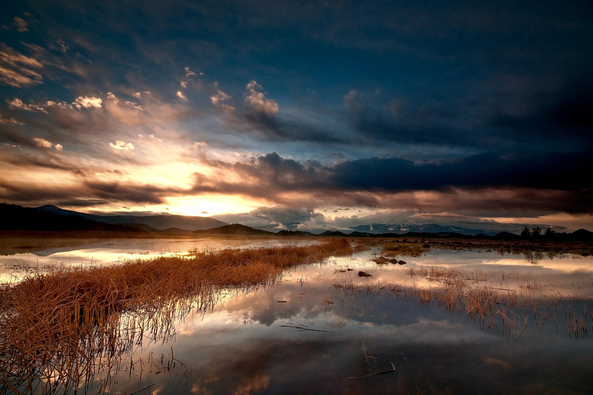природа река горы облака набо nature river mountains clouds Noboa  № 2538710 без смс
