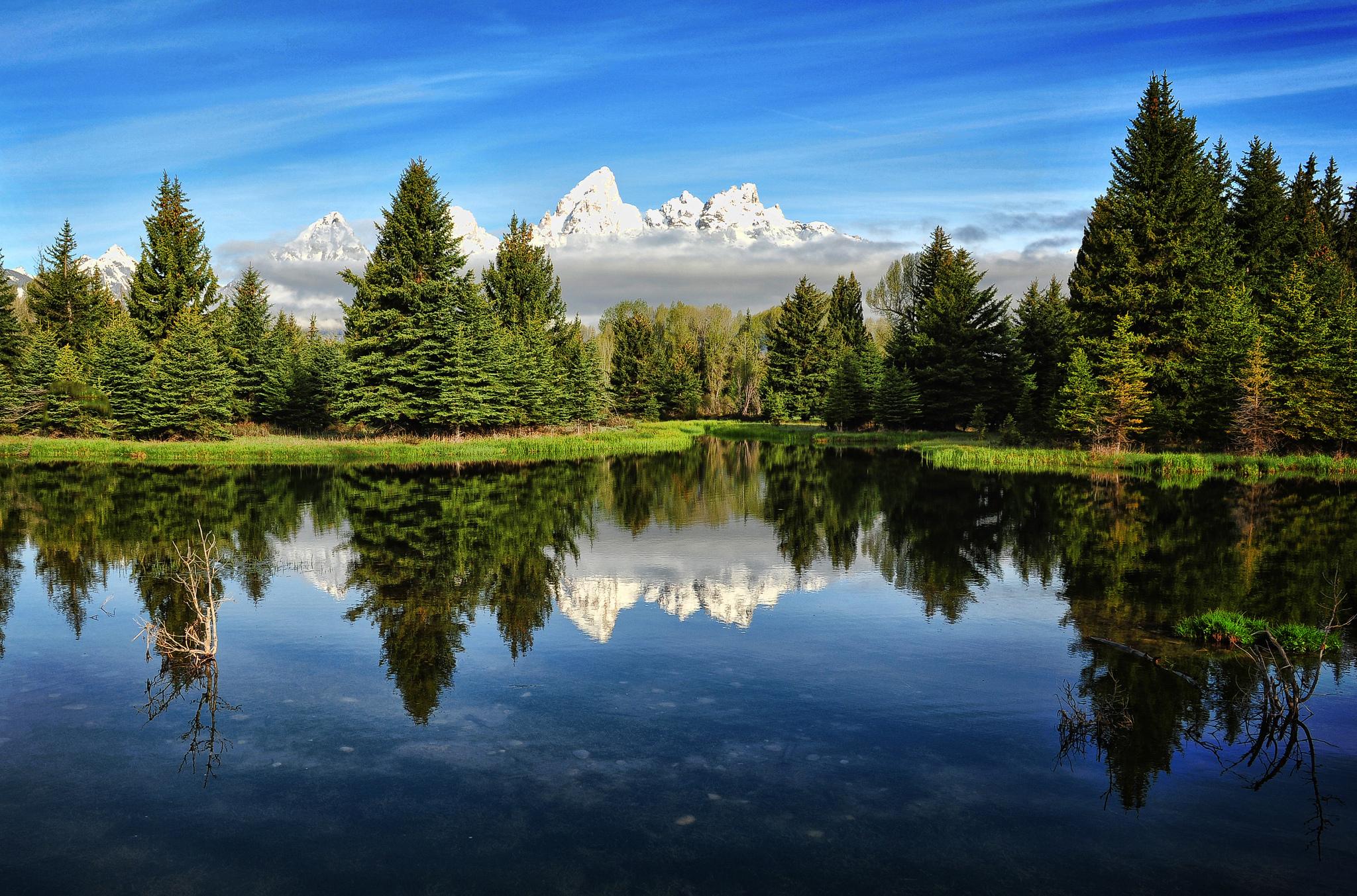 озеро гора ели бесплатно