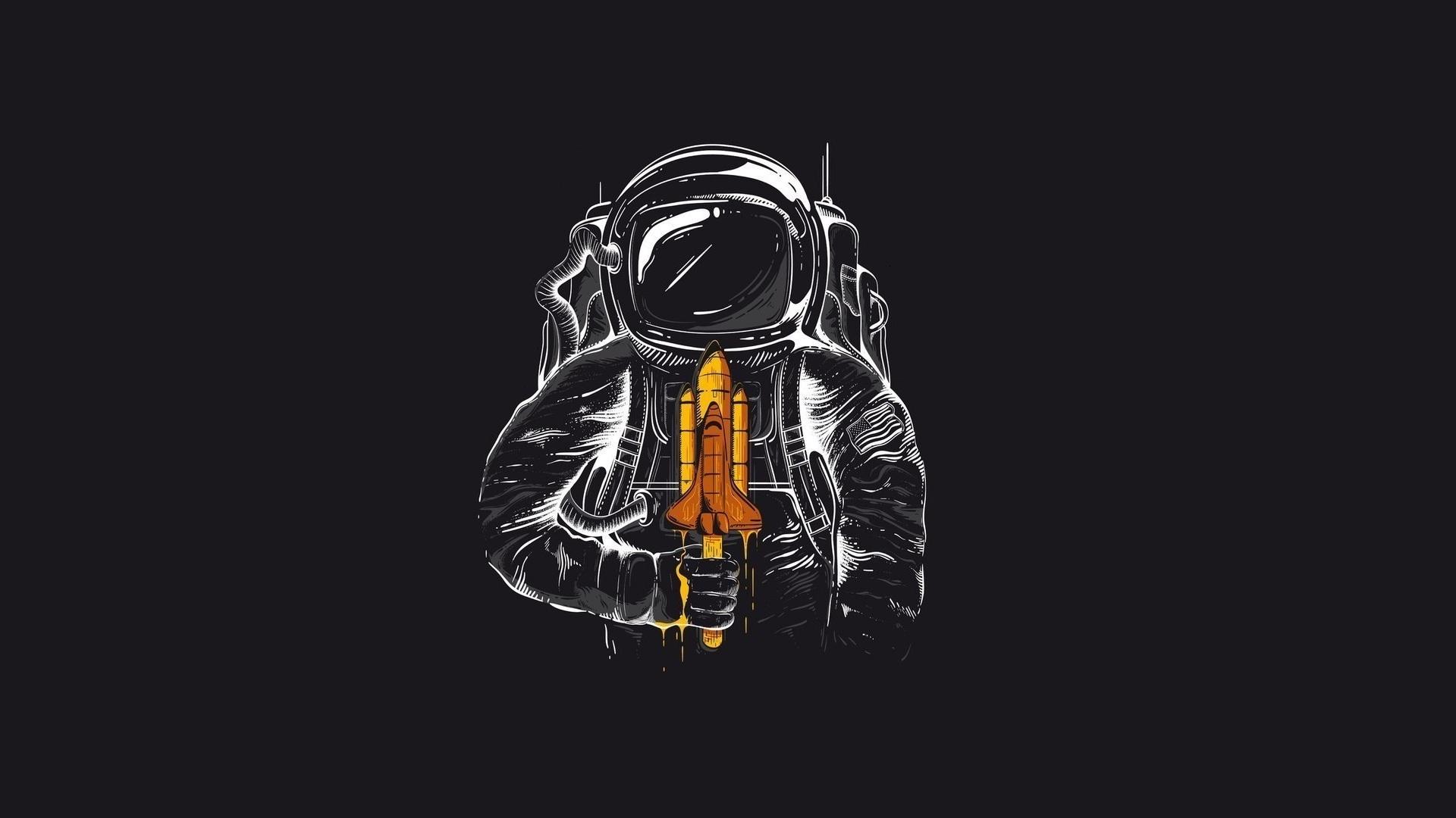 Космонавт  № 1449687 загрузить