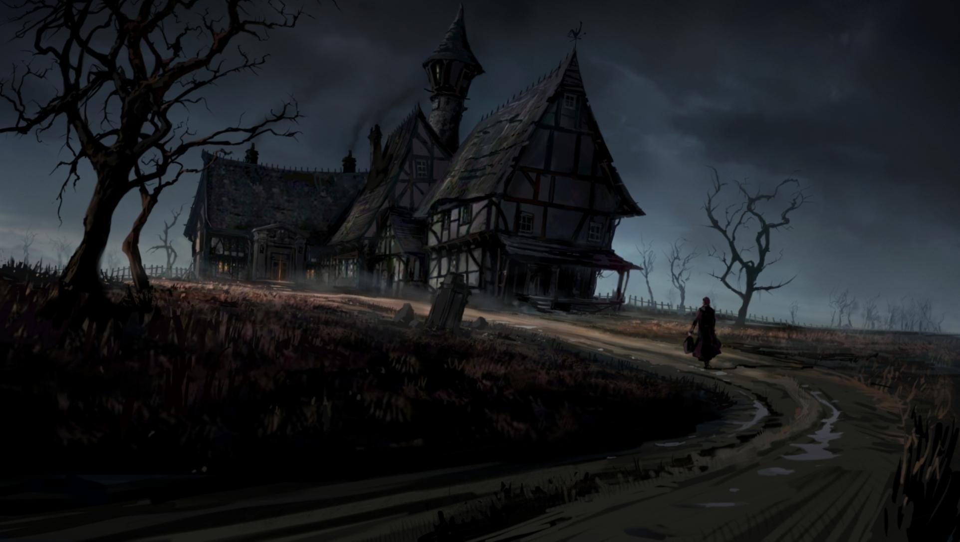 Haunted house  № 587644  скачать