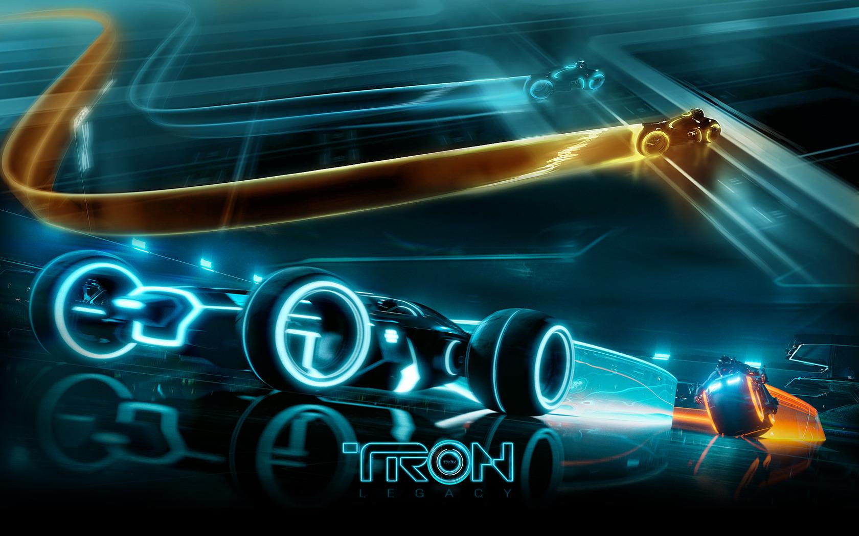 Tron неон мотоциклы  № 3312185 бесплатно