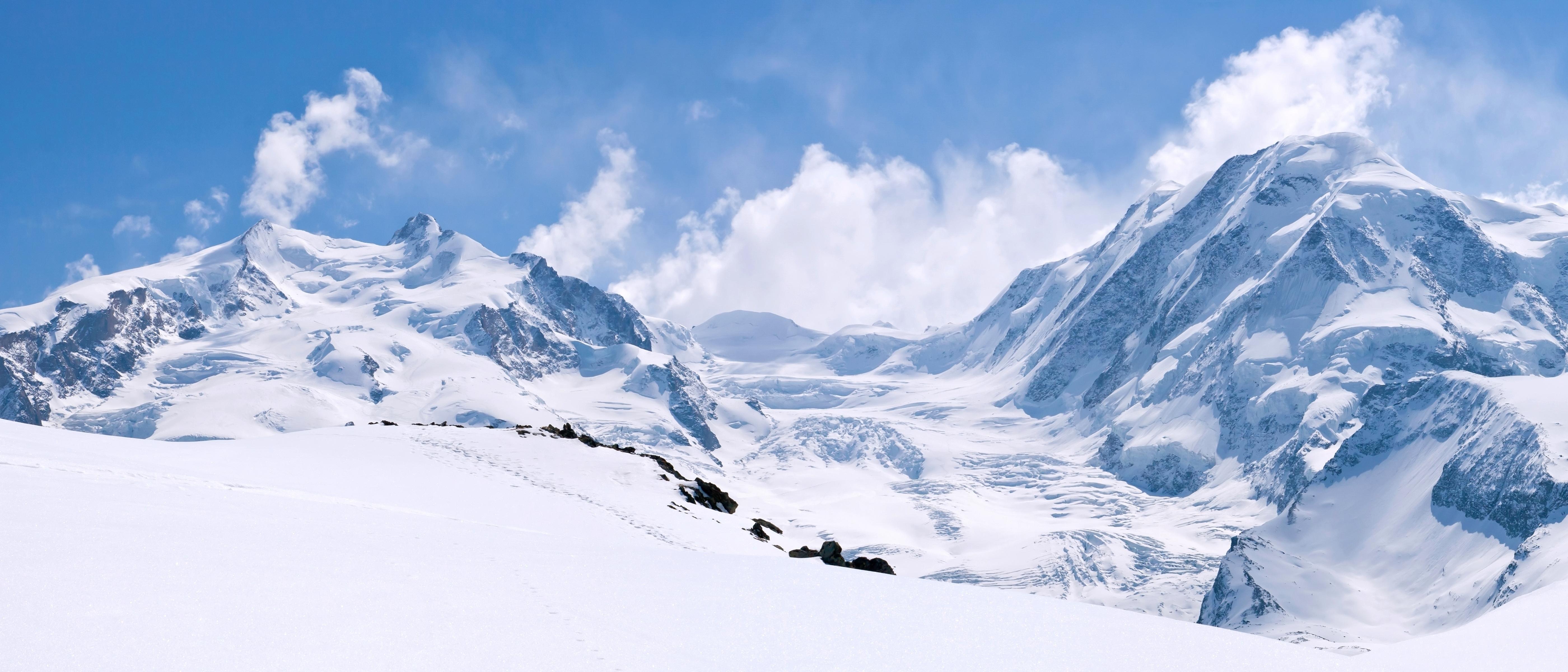 природа небо облака горы скалы  № 514828  скачать