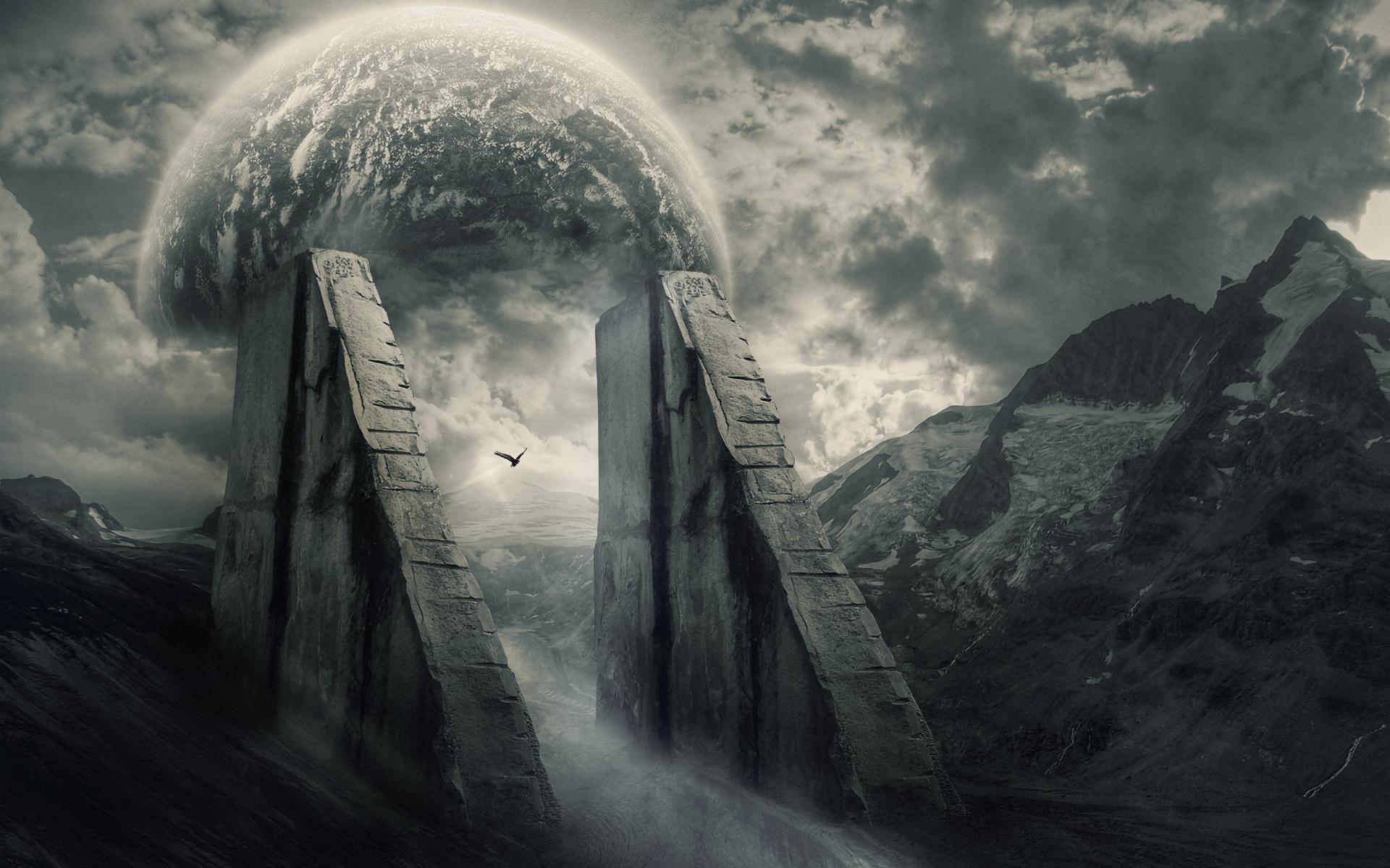 дорога гора тучи мрак без смс