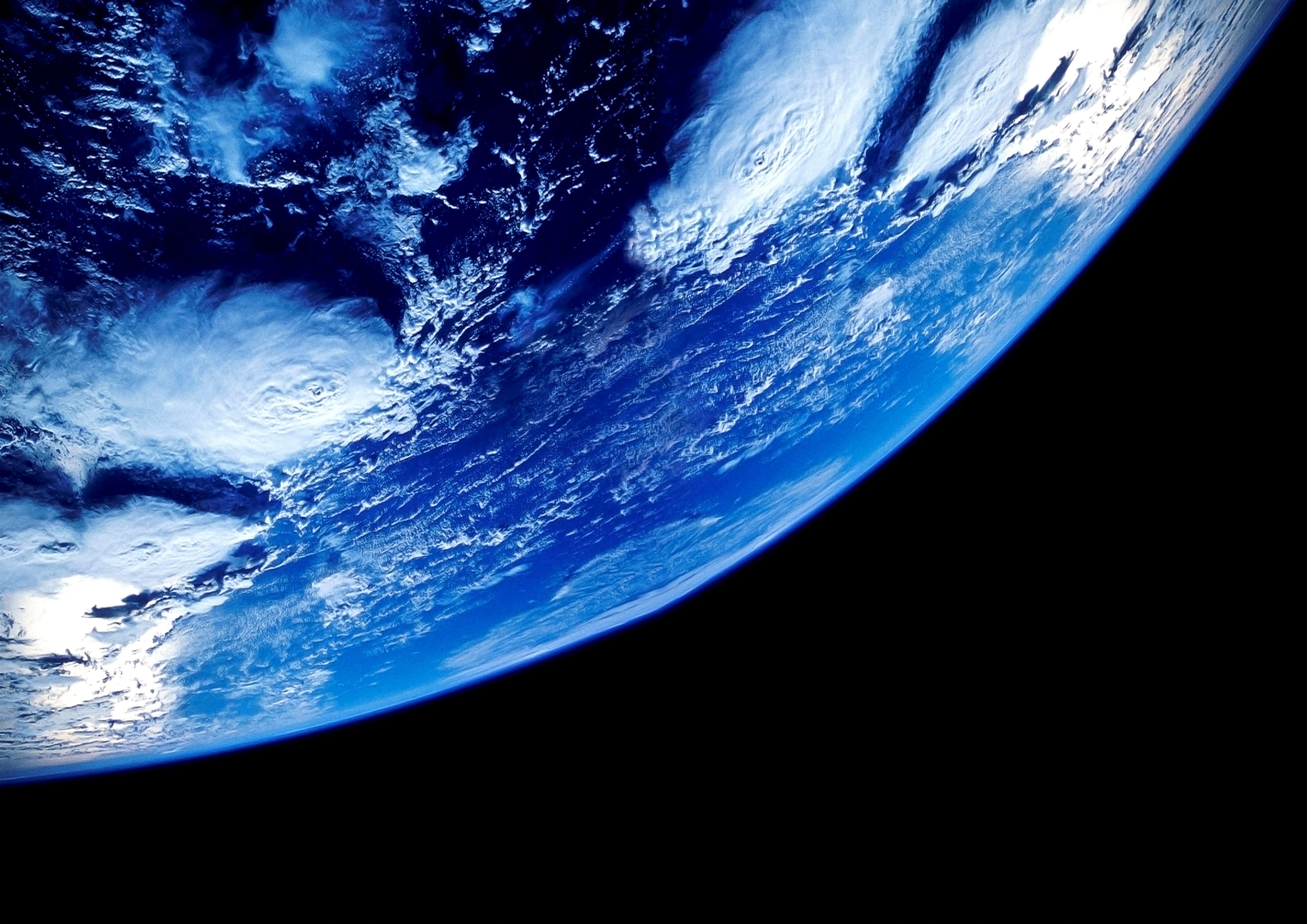 Обои Восход на орбите картинки на рабочий стол на тему Космос - скачать  № 1761483  скачать
