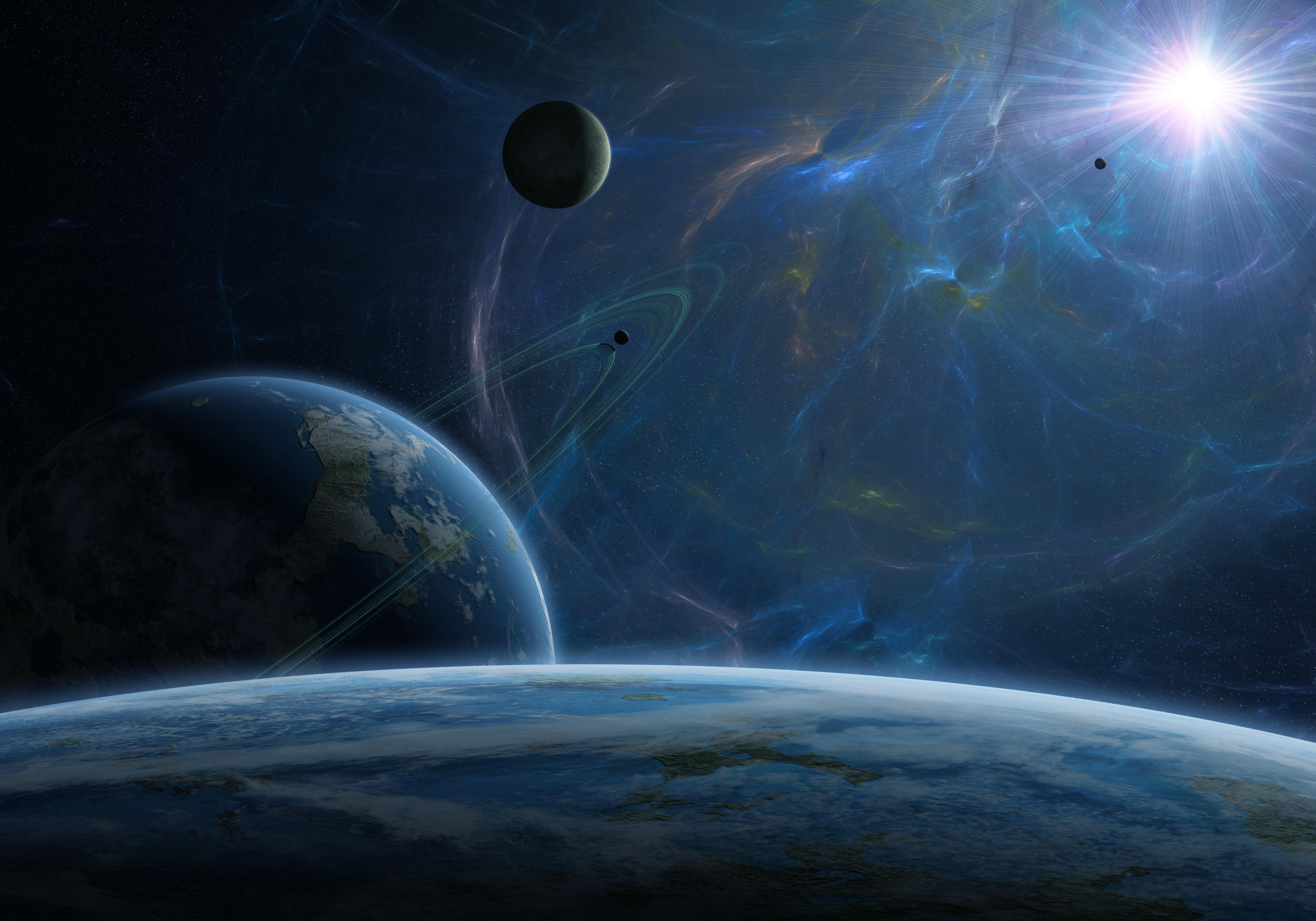 Обои Темная планета картинки на рабочий стол на тему Космос - скачать  № 1763027  скачать