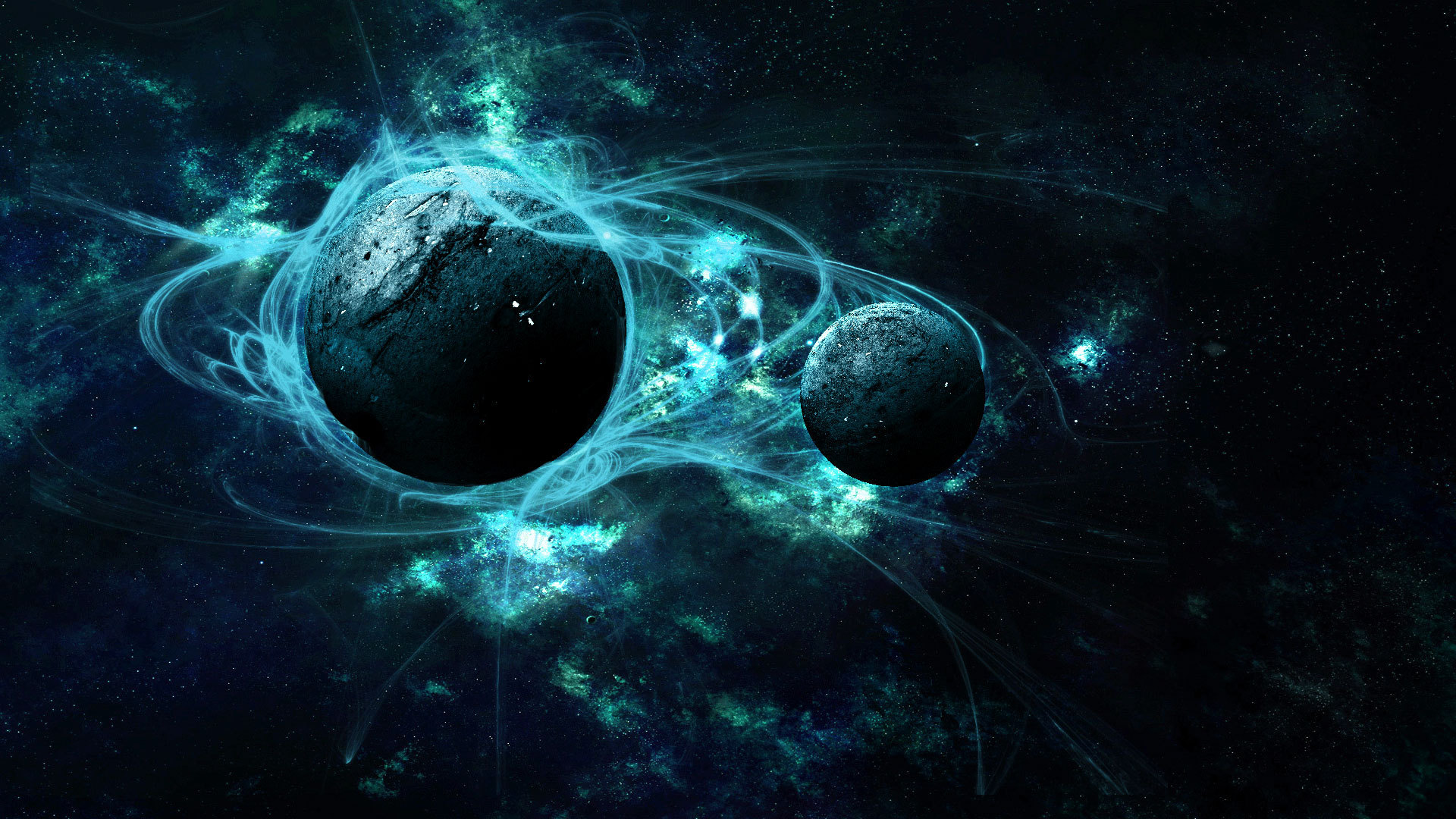 Обои Планеты синие картинки на рабочий стол на тему Космос - скачать  № 1765798 загрузить