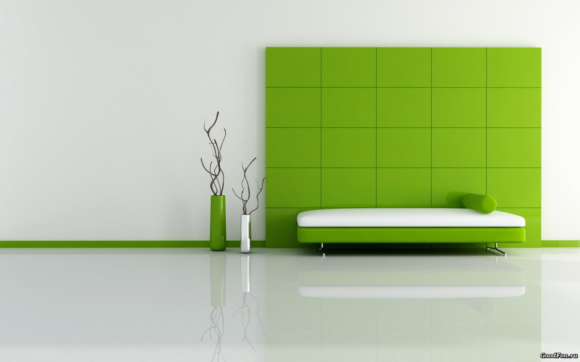 Зеленая ванная комната  № 2278728  скачать