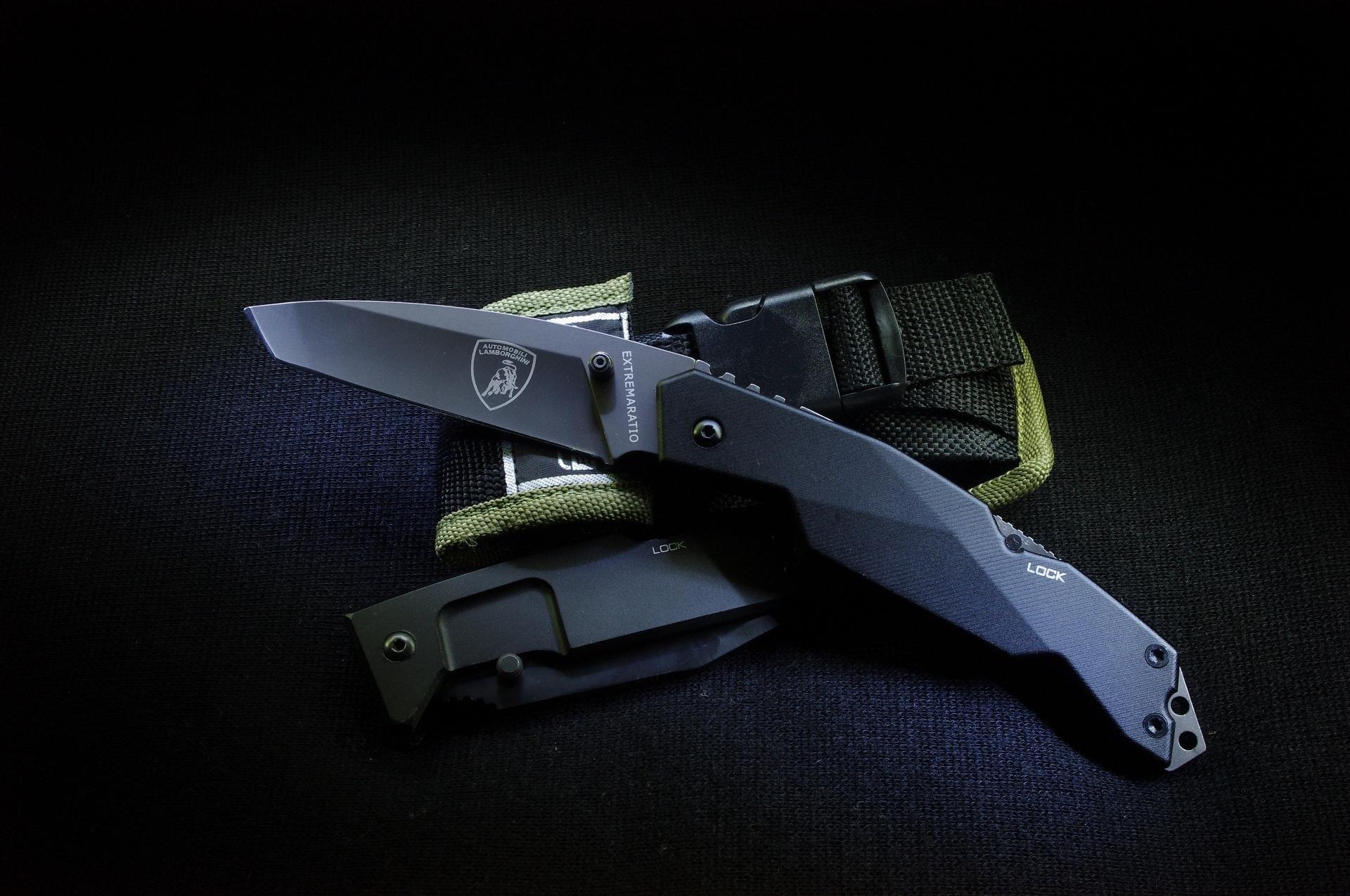 Нож с зажигалкой  № 612901 загрузить