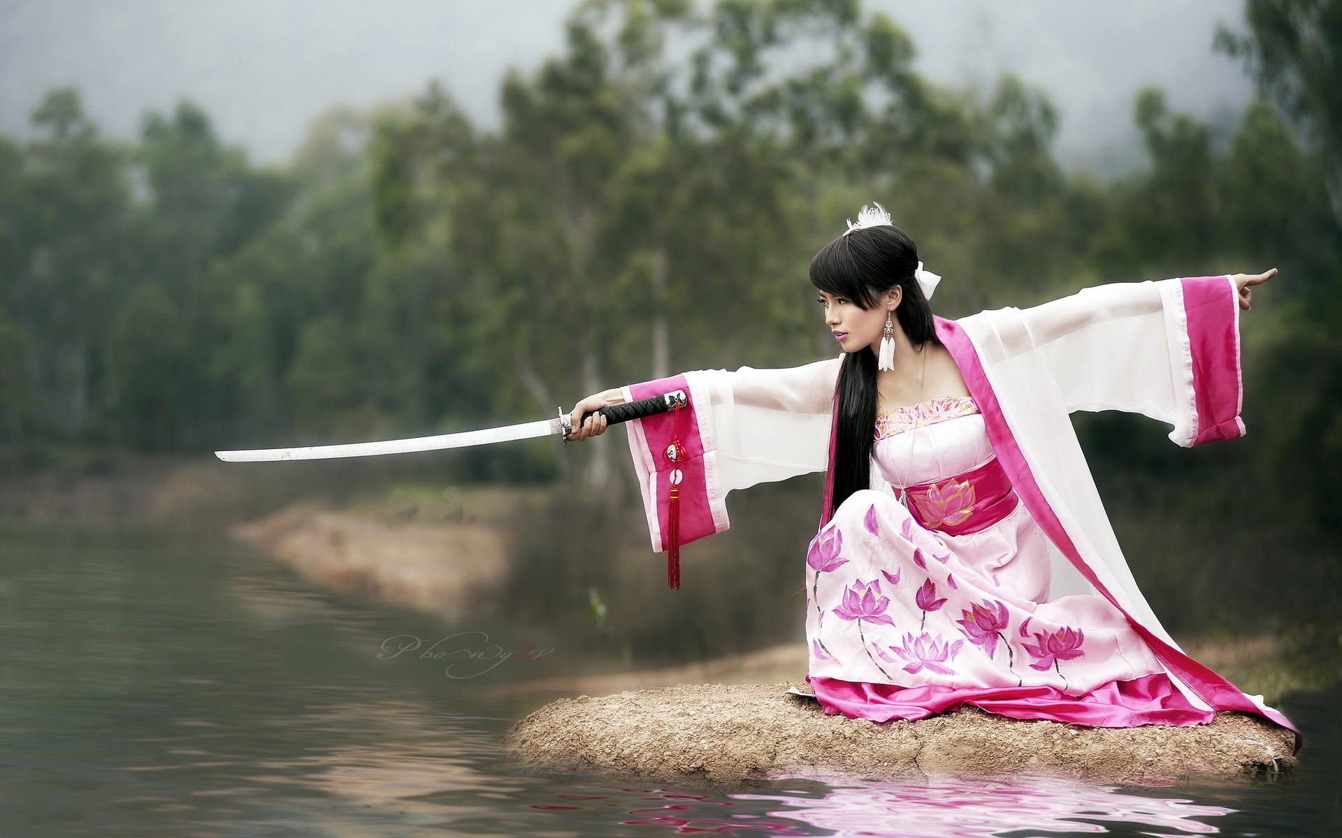 свадебное платье девушка прическа меч без смс
